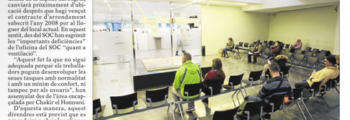 L'oficina de l'atur de Lleida es muda després de 10 anys a l'acabar el lloguer