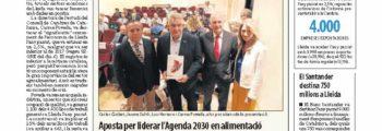 La indústria crea un de cada quatre nous llocs de treball de Lleida i de qualitat